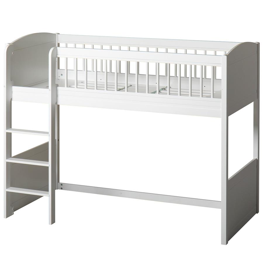 Full Size of Oliver Furniture Seaside Lille Halbhohes Hochbett Wei Online Bett Wohnzimmer Halbhohes Hochbett