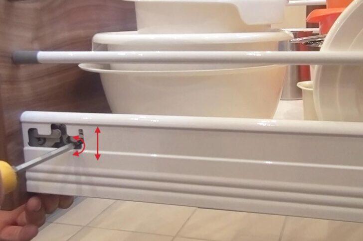 Medium Size of Schubladen Richtig Einstellen Tipps Küche Apothekerschrank Nolte Betten Schlafzimmer Wohnzimmer Nolte Apothekerschrank