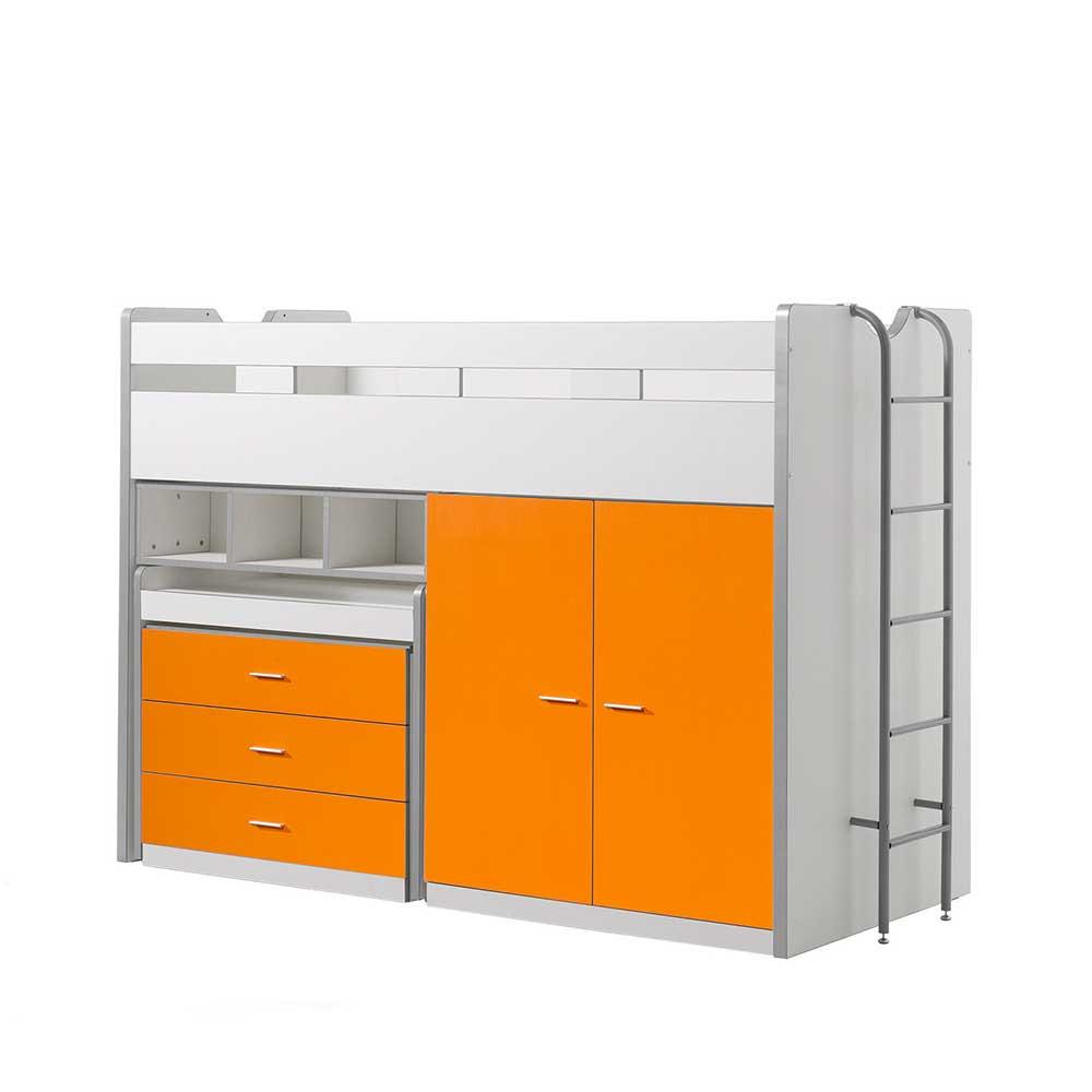 Full Size of Apothekerschrank Halbhoch Platzsparendes Hochbett In Wei Orange Mit Schreibtisch Küche Wohnzimmer Apothekerschrank Halbhoch