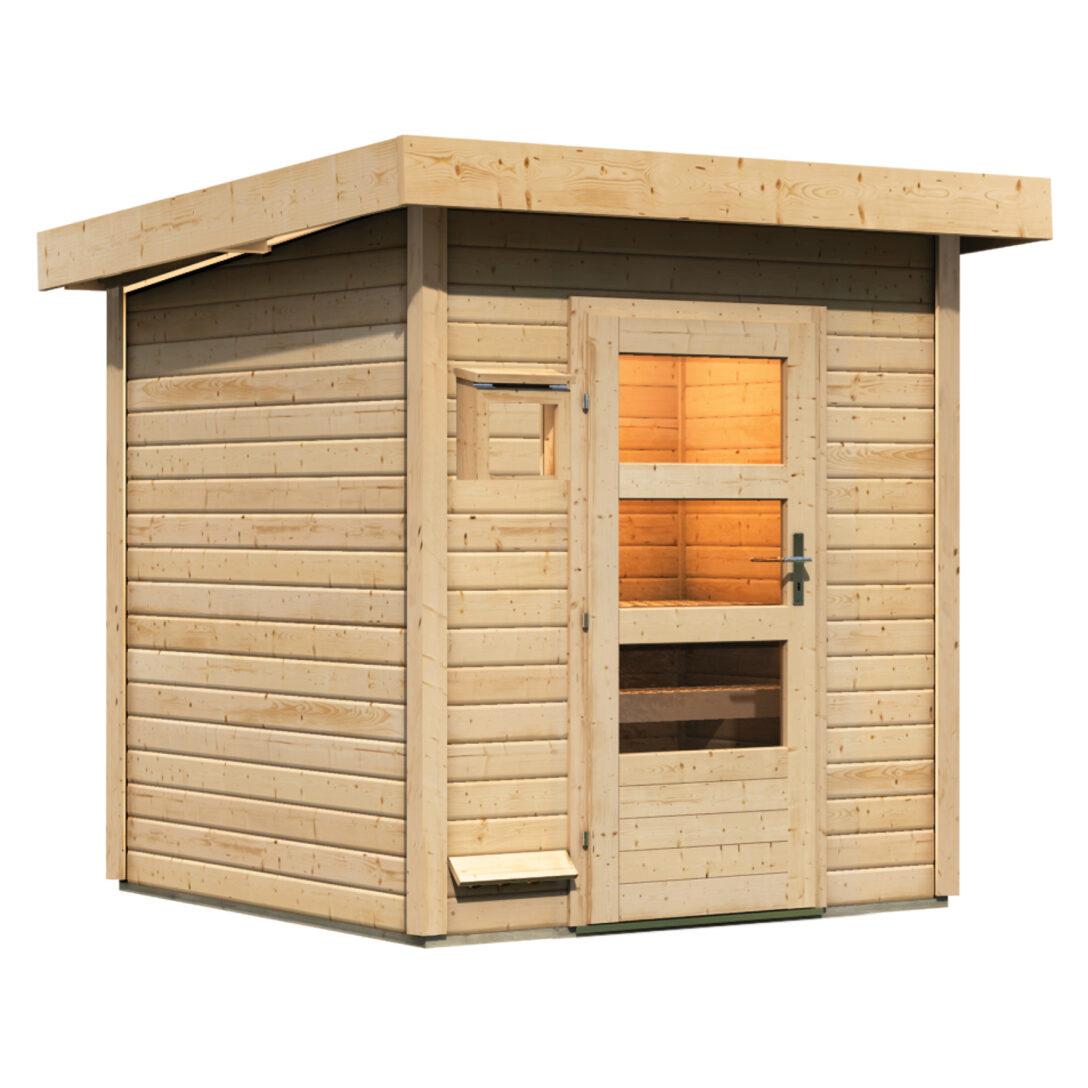 Large Size of Karibu Sauna 38 Mm Saunahaus Juuka 80797 Gnstig Kaufen Ebay Gebrauchte Küche Verkaufen Big Sofa Dusche Esstisch Ikea Bett Günstig Regale Amerikanische Alte Wohnzimmer Gartensauna Kaufen
