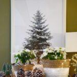 Deko Sideboard Weihnachtliche Inspiration Mit Pinienzapfen Küche Arbeitsplatte Wanddeko Schlafzimmer Für Wohnzimmer Badezimmer Dekoration Wohnzimmer Deko Sideboard