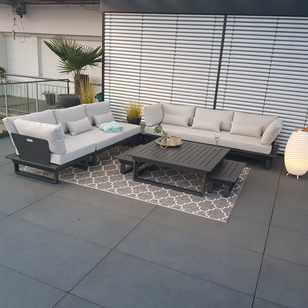 Full Size of Fenster Holz Alu Aluminium Garten Loungemöbel Verbundplatte Küche Günstig Preise Aluplast Wohnzimmer Loungemöbel Alu