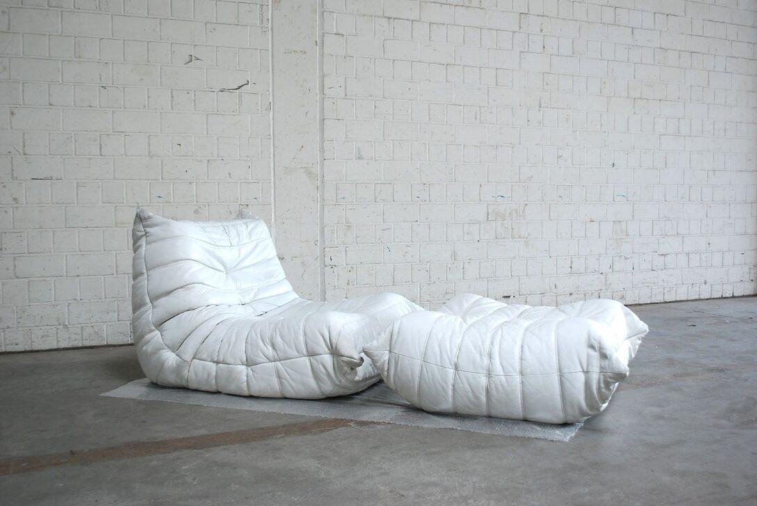 Large Size of Ligne Roset Togo Gebraucht Verkaufen Kaufen Chair Mini Sale Uk Armchair Und Ottomane In Weiem Leder Von Michel Ducaroy Sofa Wohnzimmer Ligne Roset Togo