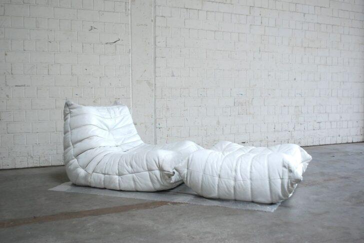 Medium Size of Ligne Roset Togo Gebraucht Verkaufen Kaufen Chair Mini Sale Uk Armchair Und Ottomane In Weiem Leder Von Michel Ducaroy Sofa Wohnzimmer Ligne Roset Togo