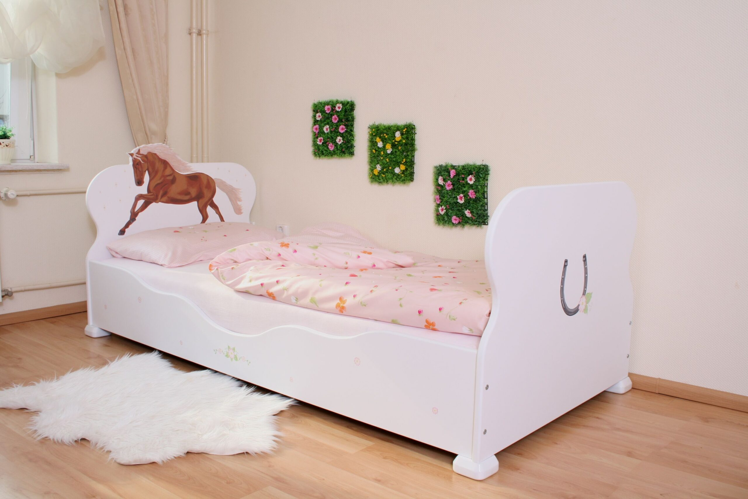 Full Size of Kinderbett Mädchen 90x200 Bett Pferd Oliniki Betten Mit Schubladen Weiß Weißes Kiefer Lattenrost Und Matratze Bettkasten Wohnzimmer Kinderbett Mädchen 90x200