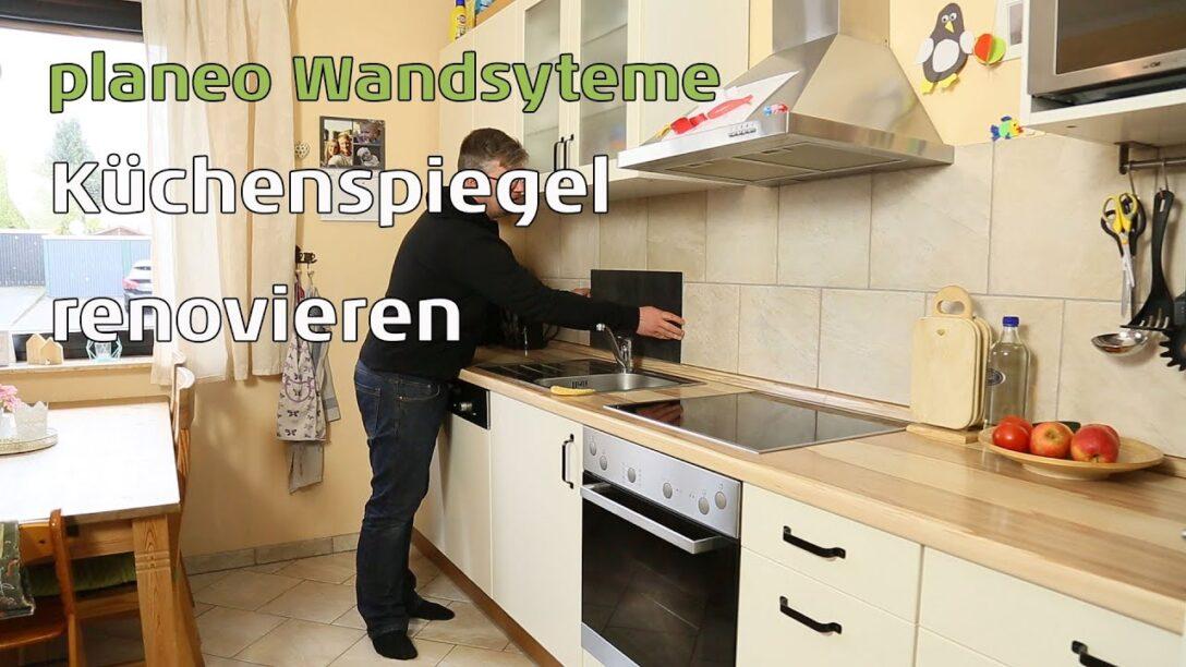 Large Size of Kchenspiegel Renovieren Mit Planeo Wandpaneele Youtube Vinylboden Im Bad Verlegen Vinyl Küche Fürs Wohnzimmer Badezimmer Wohnzimmer Küchenrückwand Vinyl
