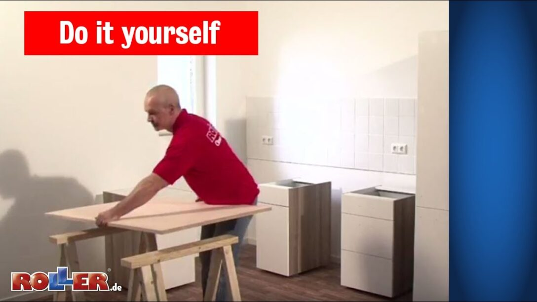 Large Size of Roller Miniküche Kchen Schrnke Montieren Do It Yourself Youtube Mit Kühlschrank Regale Ikea Stengel Wohnzimmer Roller Miniküche
