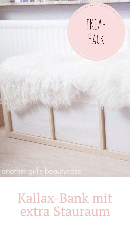Full Size of Ikea Sitzbank Hack Aus Kallaregal Another Girls Beautycase Sofa Mit Schlaffunktion Betten 160x200 Miniküche Bei Küche Kaufen Lehne Bett Kosten Garten Wohnzimmer Ikea Sitzbank