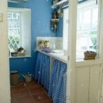 Schrank Für Küche Blaue Aufgegebenes Vorhnge Auf Unter Waschbecken Im Lampen Badezimmer Hochschrank Weiß Bodenbelag Spritzschutz Plexiglas Led Deckenleuchte Wohnzimmer Schrank Für Küche