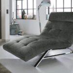 Relaxliege Verstellbar Riviera In Velour Stoff Grau Motorisch Wohnzimmer Garten Sofa Mit Verstellbarer Sitztiefe Wohnzimmer Relaxliege Verstellbar