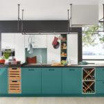 Landhausküche Grün Wohnzimmer Moderne Kcheninsel In Grn Küche Mintgrün Landhausküche Gebraucht Sofa Grün Grünes Grau Weiß Regal Weisse