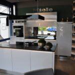 Hcker Classic Faro Polarwei Hg Lack Cristall Schwarz Miele Küche Komplettküche Wohnzimmer Miele Komplettküche