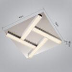 Natsen Deckenlampe Modern Decken Leuchte 4xled 4w Silber Wohnzimmer Deckenlampen Für Schlafzimmer Modernes Bett Moderne Deckenleuchte Sofa Esstisch Esstische Wohnzimmer Deckenlampe Modern