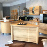 Kern Ahorn Massivholz Kche Mit Fahrbarer Insel Westhaus Inselküche Abverkauf Bad Massivholzküche Wohnzimmer Massivholzküche Abverkauf