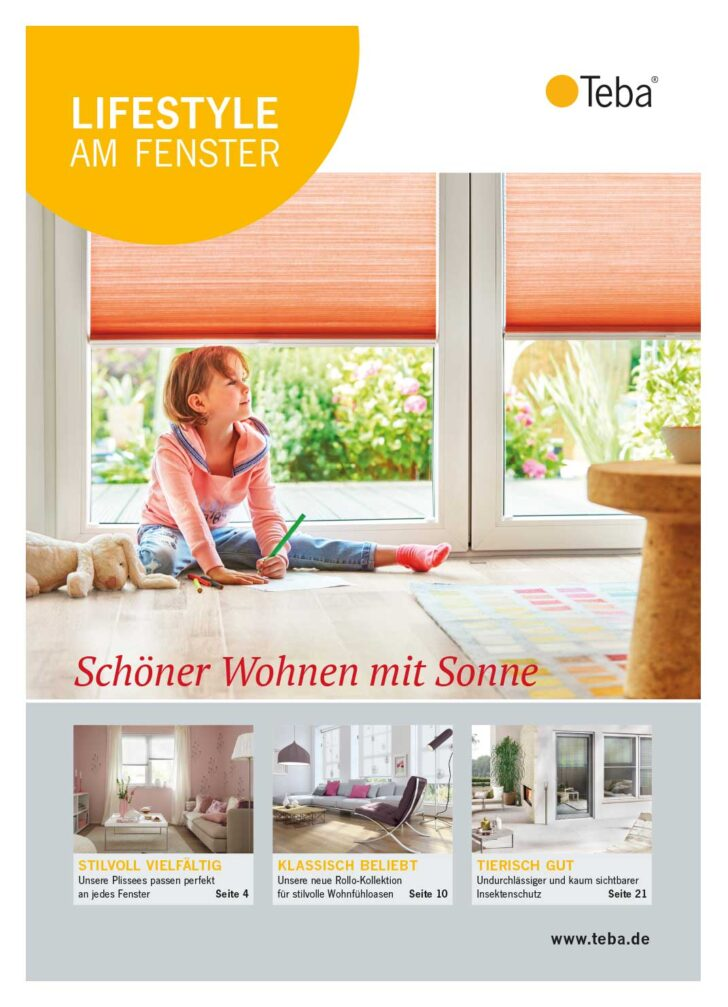 Medium Size of Teba Sicht Und Sonnenschutz Fr Ihre Fenster Raffrollo Küche Wohnzimmer Raffrollo Küchenfenster