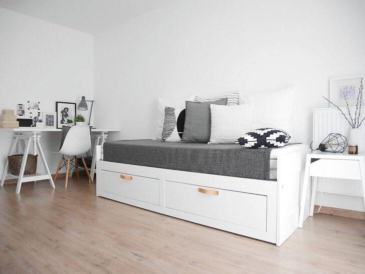 Medium Size of Bett Mit Ausziehbett Ikea Modernes 180x200 Regal Türen Esstisch 4 Stühlen Günstig Graues Betten Weiß Test Kaufen Lattenrost Und Matratze Home Affaire Aus Wohnzimmer Bett Mit Ausziehbett Ikea