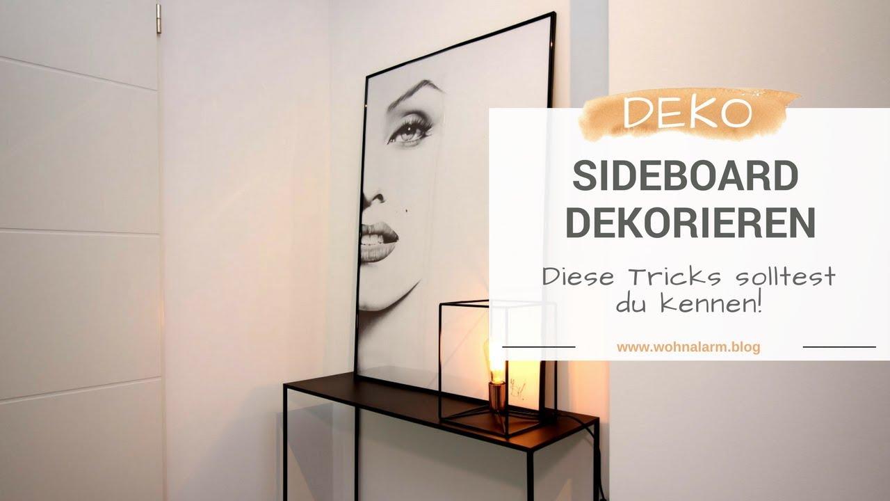 Full Size of Dekorieren Sideboard Küche Deko Für Wohnzimmer Badezimmer Dekoration Wanddeko Mit Arbeitsplatte Wohnzimmer Deko Sideboard