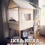 Kura Hack Ikea Stairs Hacks Pinterest House Bed Storage Floor Montessori Drawers Best Wohnzimmer Kura Hack
