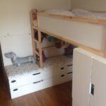 Kura Hack Ikea Montessori Floor Bed 2 Beds Bunk Storage Underneath House Kid Friendly Diys Featuring The Wohnzimmer Kura Hack