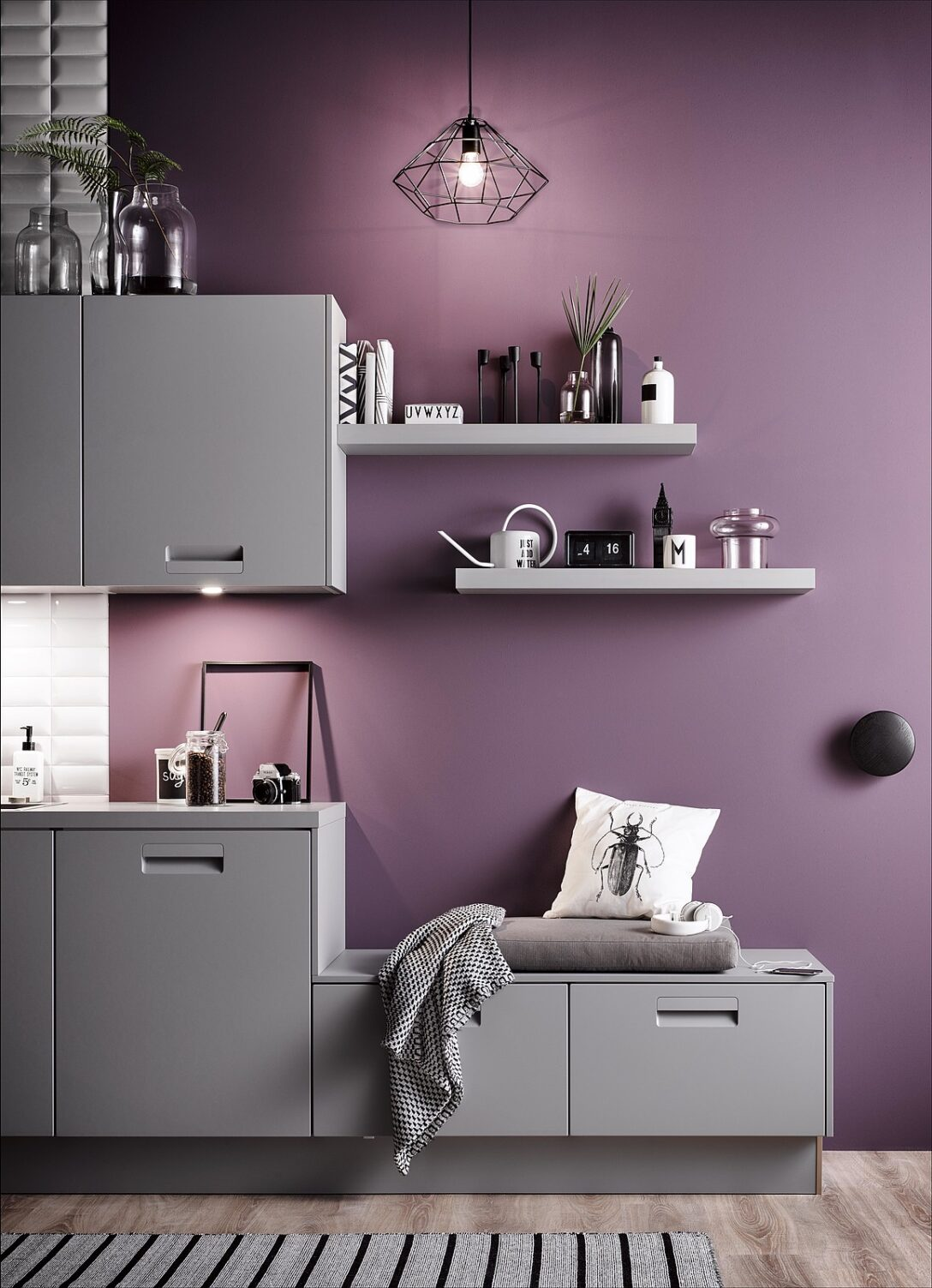 Large Size of Kchenfarben Welche Farbe Passt Zu Wem Küche Rosa Wohnzimmer Wandfarbe Rosa