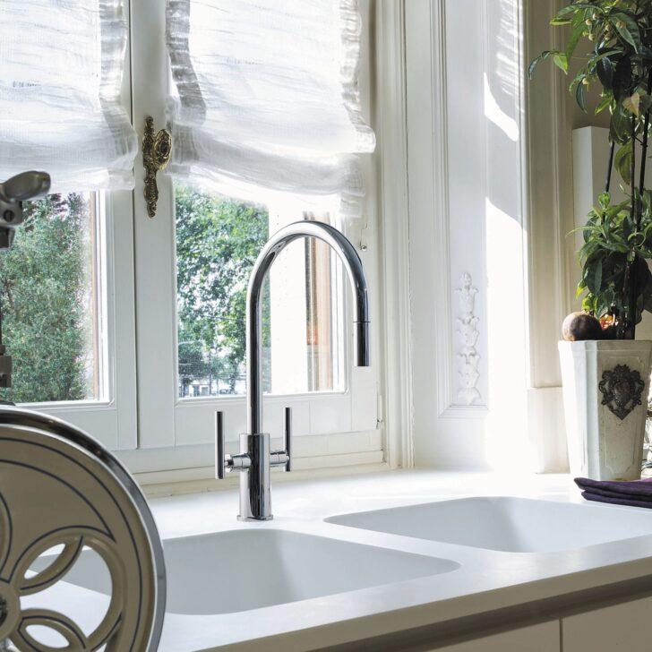 Medium Size of Freistehende Küchen Mischbatterie Kitchen Mixer Graff Verchromtes Regal Küche Wohnzimmer Freistehende Küchen