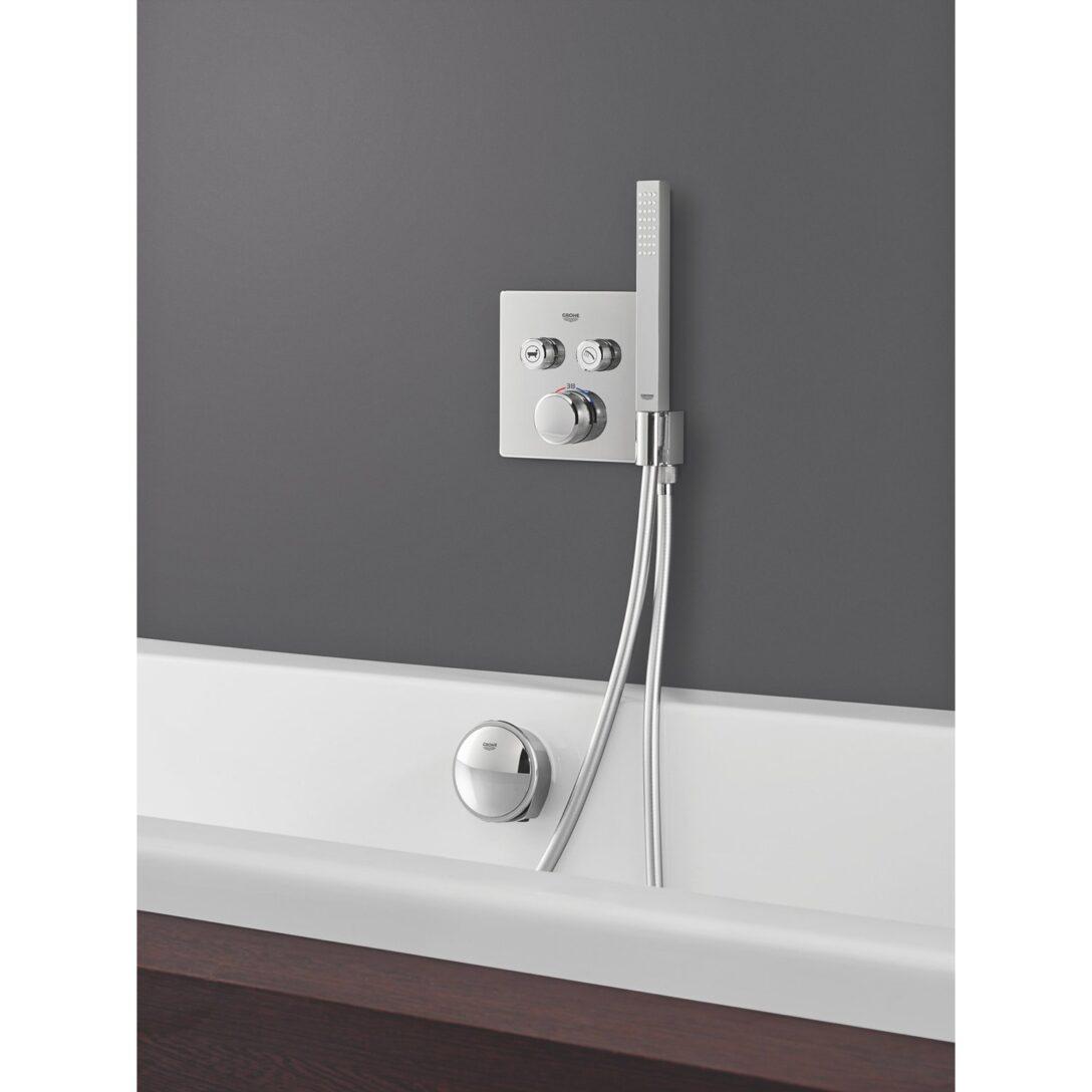 Large Size of Grohe Thermostat Grohtherm Smartcontrol 2 Absperrventile Chrom Mit Armatur Bad Badewanne Tür Und Dusche Bette Armaturen Badezimmer Unterputz Niederdruck Wohnzimmer Armatur Badewanne Grohe