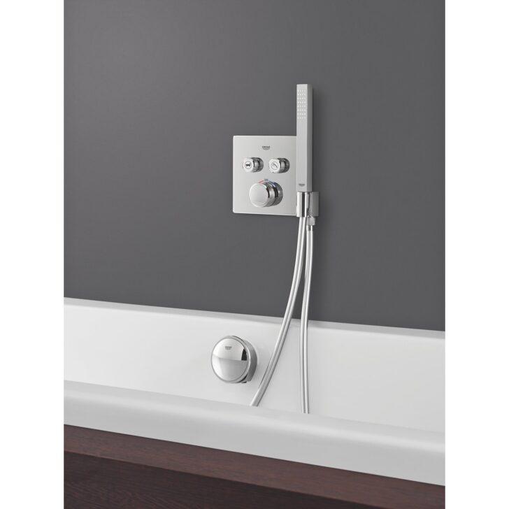 Medium Size of Grohe Thermostat Grohtherm Smartcontrol 2 Absperrventile Chrom Mit Armatur Bad Badewanne Tür Und Dusche Bette Armaturen Badezimmer Unterputz Niederdruck Wohnzimmer Armatur Badewanne Grohe