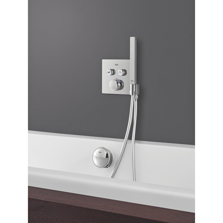 Full Size of Grohe Thermostat Grohtherm Smartcontrol 2 Absperrventile Chrom Mit Armatur Bad Badewanne Tür Und Dusche Bette Armaturen Badezimmer Unterputz Niederdruck Wohnzimmer Armatur Badewanne Grohe