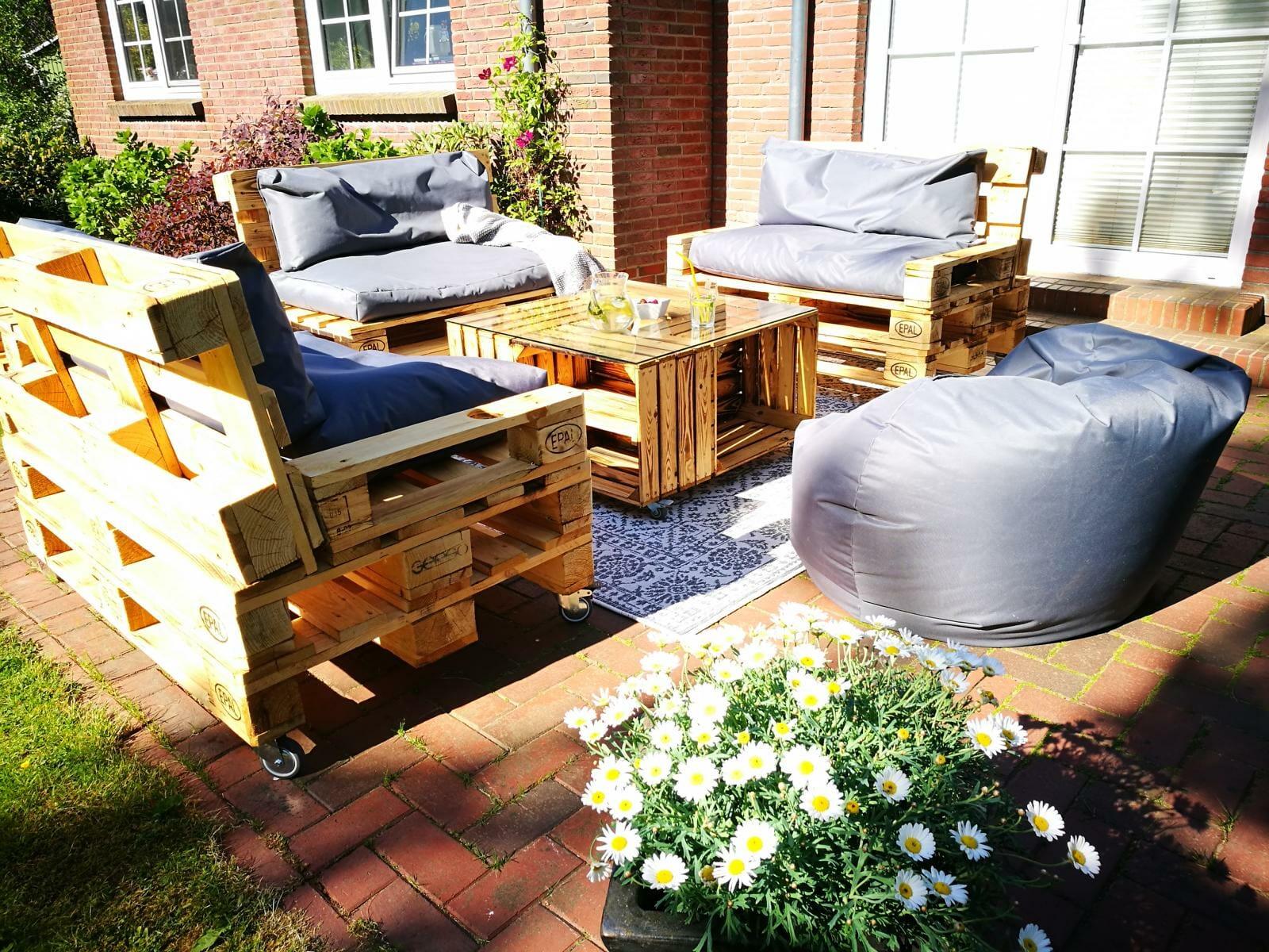 Full Size of Couch Terrasse Gartenmbel Aus Paletten Diy Tipps Palettenmbel Shop Wohnzimmer Couch Terrasse