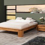 Futonbett 100x200 Bett Schlafzimmerbet Maison Xl Eiche Massiv Cm Betten Weiß Wohnzimmer Futonbett 100x200