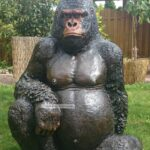 Gorilla Affe Garten Figur Skulptur Fliesen Für Küche Brunnen Im Pavillion Quad Tour Baden Württemberg Relaxsessel Aldi Wohnen Und Abo Trennwände Vertikal Wohnzimmer Eisenskulpturen Für Den Garten