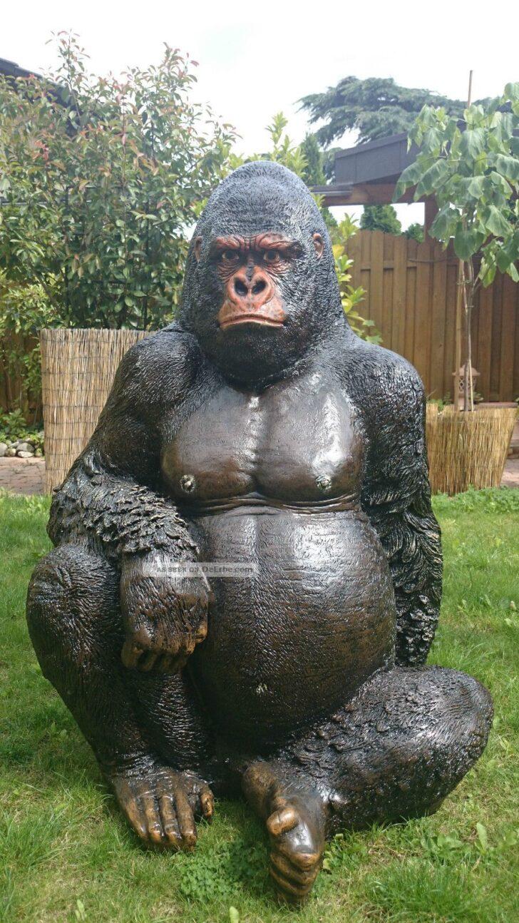 Medium Size of Gorilla Affe Garten Figur Skulptur Fliesen Für Küche Brunnen Im Pavillion Quad Tour Baden Württemberg Relaxsessel Aldi Wohnen Und Abo Trennwände Vertikal Wohnzimmer Eisenskulpturen Für Den Garten