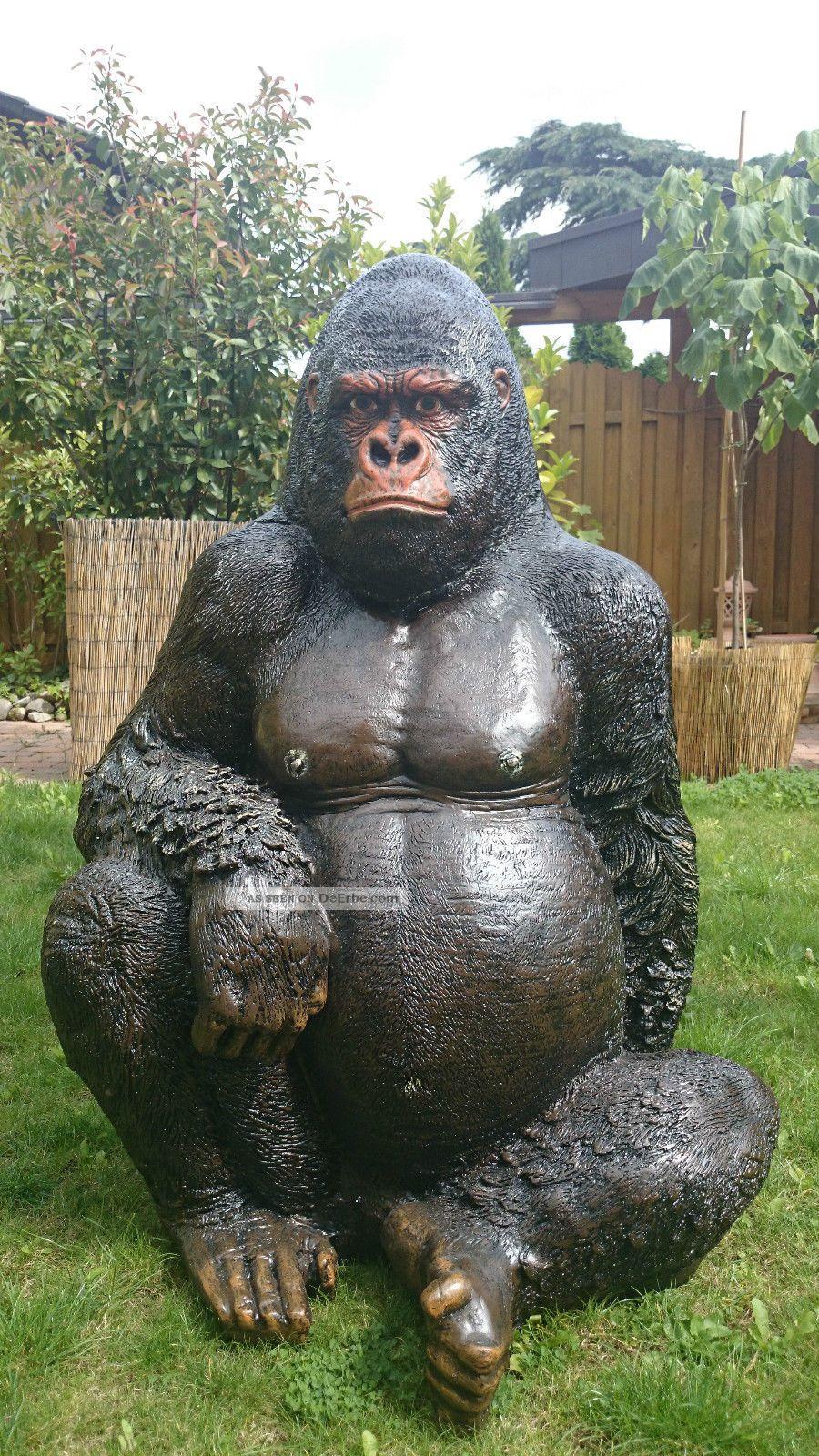 Full Size of Gorilla Affe Garten Figur Skulptur Fliesen Für Küche Brunnen Im Pavillion Quad Tour Baden Württemberg Relaxsessel Aldi Wohnen Und Abo Trennwände Vertikal Wohnzimmer Eisenskulpturen Für Den Garten