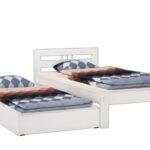 Futonbett 100x200 Wohnzimmer Betten 100x200 Bett Weiß