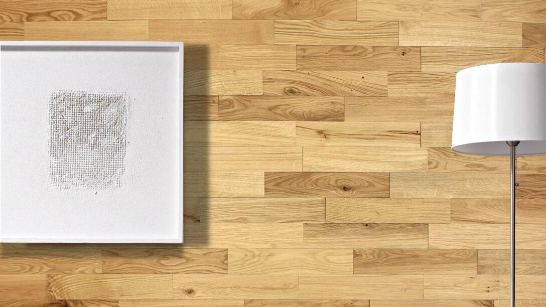 Large Size of Küchenrückwand Holz Eiche Planeo Holzriemchen Rustikal Wandverkleidung Esstische Massivholz Bad Waschtisch Regal Weiß Spielhaus Garten Wildeiche Bett Regale Wohnzimmer Küchenrückwand Holz Eiche