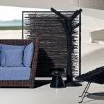Paravent Bambus Wohnzimmer Moderner Paravent Black 199 Gervasoni Amerikanischer Garten Bambus Bett