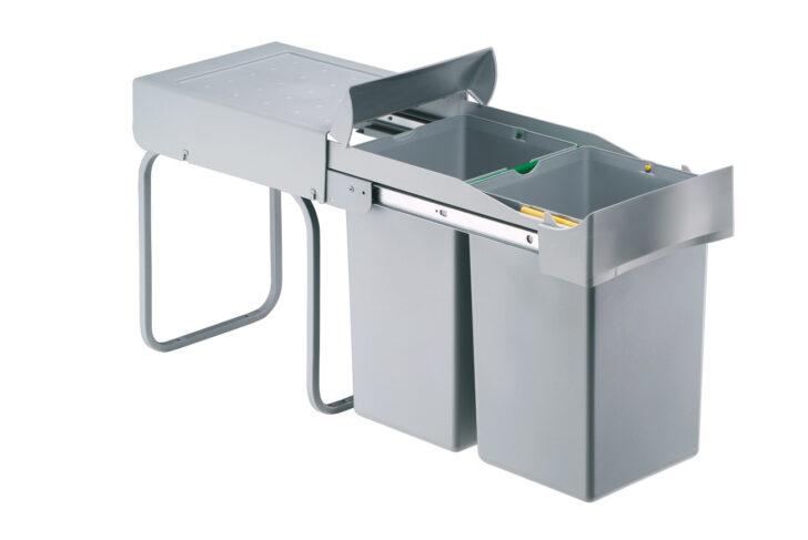Einbau Mlleimer Schrankbreite Ab 30 Cm 2x14 Liter Online Einbauküche Mit Elektrogeräten Mülleimer Küche Dusche Einbauen Nobilia Bodengleiche Nachträglich Wohnzimmer Einbau Mülleimer