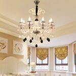 Moderne Esszimmerlampen Esszimmer Lampen Modern Led Kristall Lampe Glas Pendelleuchte Kerze Kristalllster Esstische Bilder Fürs Wohnzimmer Modernes Bett Wohnzimmer Moderne Esszimmerlampen
