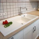 Spülstein Keramik Keramiksple Kche Reinigen Kchenfronten Materialspezifisch Waschbecken Küche Wohnzimmer Spülstein Keramik