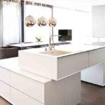 Freistehende Küchen Keine Auf Wand Befreite Kche Livingkitchen Regal Küche Wohnzimmer Freistehende Küchen