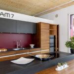 Team 7 Ausstellungskche Linee Nussbaum Baumgartner Schreinerei Betten Wohnzimmer Ausstellungsküchen Team 7