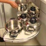 Hfele Schwenkbarer Eckschrank Youtube Einbauküche Ohne Kühlschrank Einzelschränke Küche Anrichte Jalousieschrank Läufer Tapeten Für Die Mintgrün Wohnzimmer Küche Eckschrank Rondell