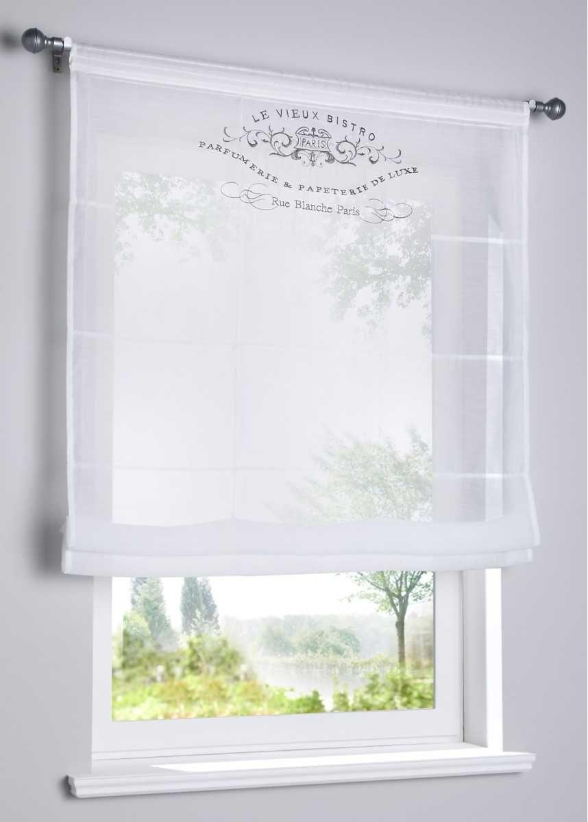 Full Size of Küchen Raffrollo Transparentes Mit Stickerei Bildern Regal Küche Wohnzimmer Küchen Raffrollo