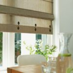 Küchen Raffrollo Kche Bonprivorhnge Waschbar Klettband Sitzecke Küche Regal Wohnzimmer Küchen Raffrollo