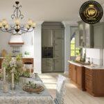 Italienische Kche Piemont Im Landhausstil Wohnzimmer Küchenmöbel