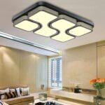 Deckenlampen Wohnzimmer Modern Deckenlampe Etime 45w 64x43cm Design Led Warmwei Deckenleuchte Bett Lampen Indirekte Beleuchtung Bilder Xxl Sideboard Modernes Wohnzimmer Deckenlampe Wohnzimmer Modern