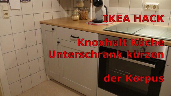 Medium Size of Ikea Küchen Unterschrank Hack Knoxhult Kche Krzen Der Korpus Youtube Modulküche Eckunterschrank Küche Kosten Betten 160x200 Bad Holz Bei Sofa Mit Wohnzimmer Ikea Küchen Unterschrank