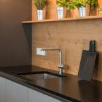Rückwand Küche Holz Beer Kchen Manufaktur Ganz Individuell Graue Kche Hochglanz Led Panel Sitzgruppe Weiß Outdoor Kaufen Aufbewahrungsbehälter Müllschrank Wohnzimmer Rückwand Küche Holz