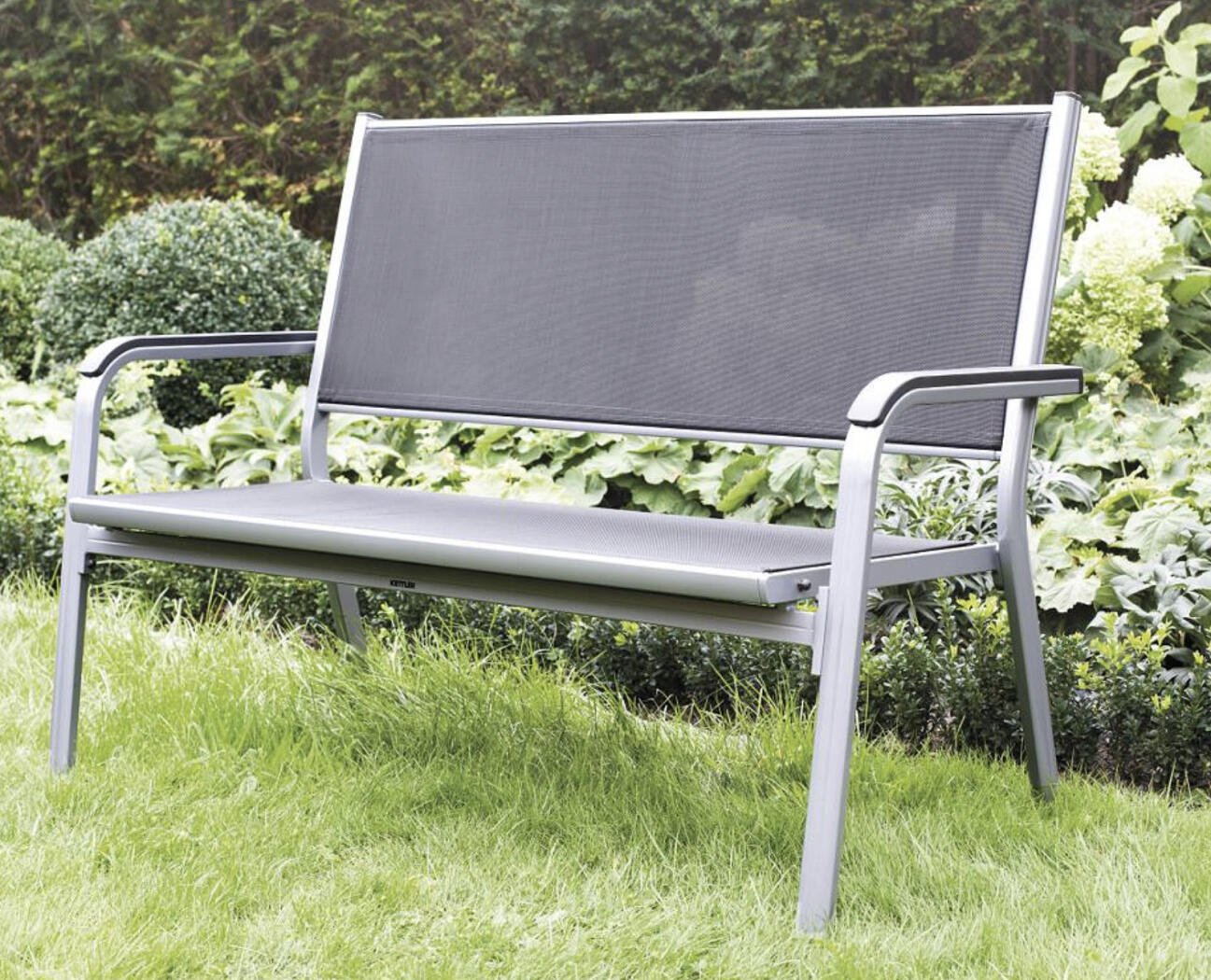 Full Size of Kettler 2er Gartenbank Basic Plus Aluminium Mit Edelstahlschrauben Relaxsessel Garten Aldi Wohnzimmer Aldi Gartenbank