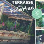 Paletten Zaun Terrasse Aus Selber Bauen Palettenmbel Europaletten Regale Regal Garten Bett Kaufen 140x200 Wohnzimmer Paletten Zaun